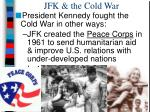 jfk the cold war