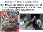 the bay of pigs invasion 1961
