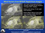 wind vectors from mtsat rapid scan images