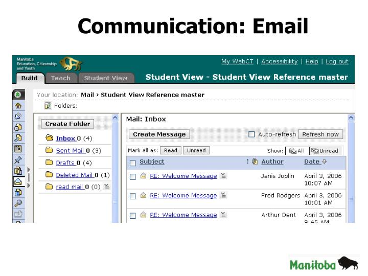Communication: Email