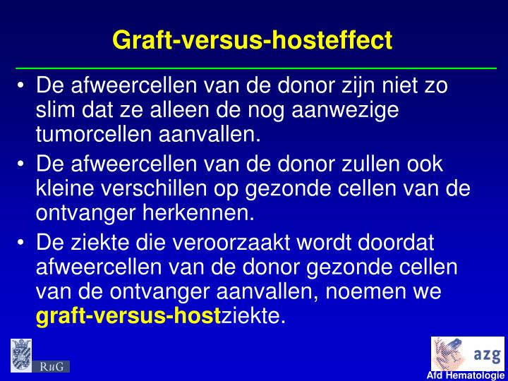 Graft-versus-hosteffect