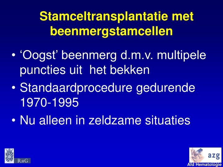 Stamceltransplantatie met