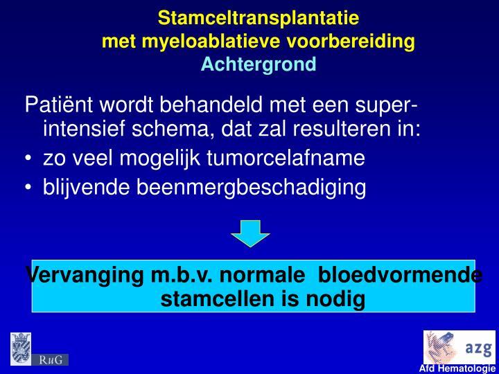 Stamceltransplantatie