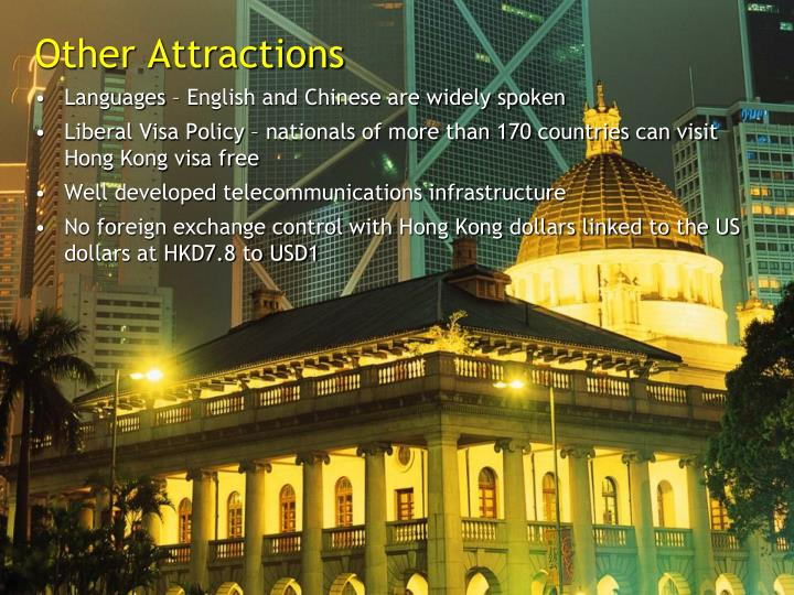 Other Attractions