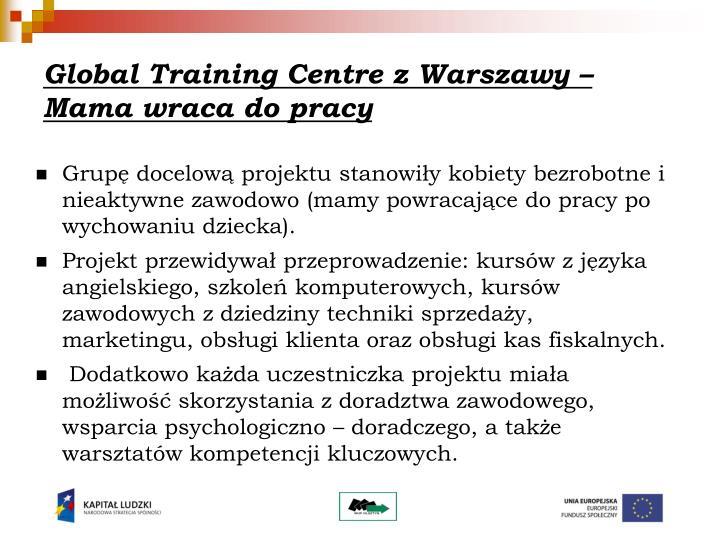 Global Training Centre z Warszawy –