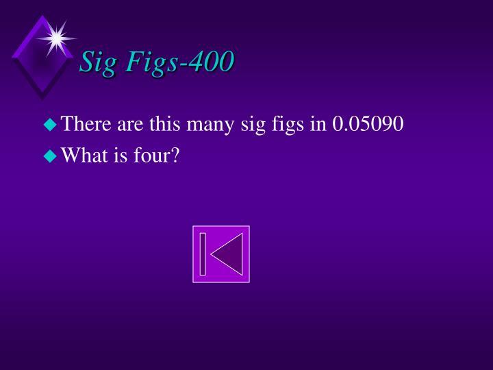 Sig Figs-400