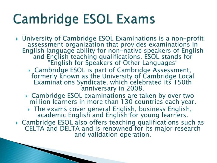 Cambridge esol exams1