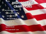 high cost of campaigns1