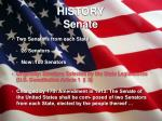 history senate
