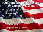 unintended consequences of gerrymandering