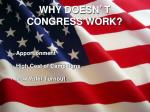 why doesn t congress work