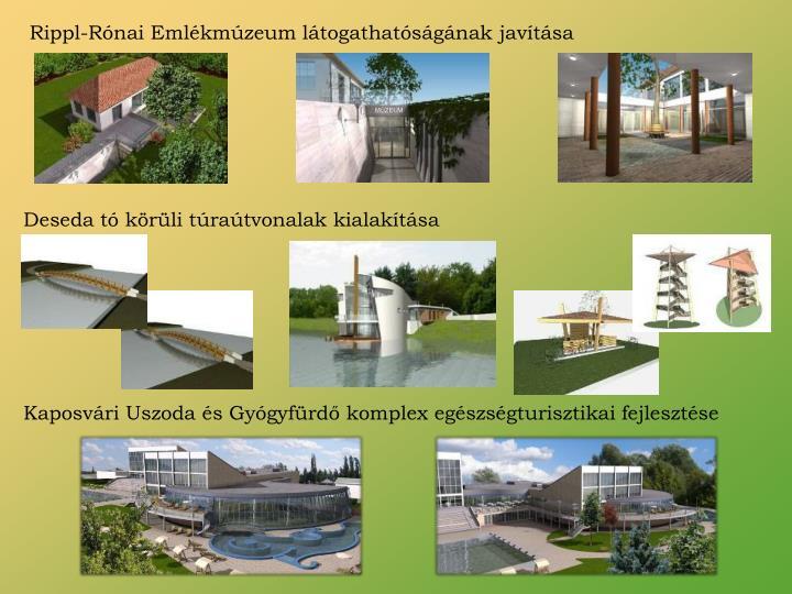 Rippl-Rónai Emlékmúzeum látogathatóságának javítása