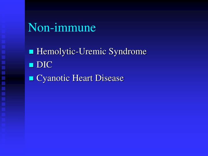 Non-immune