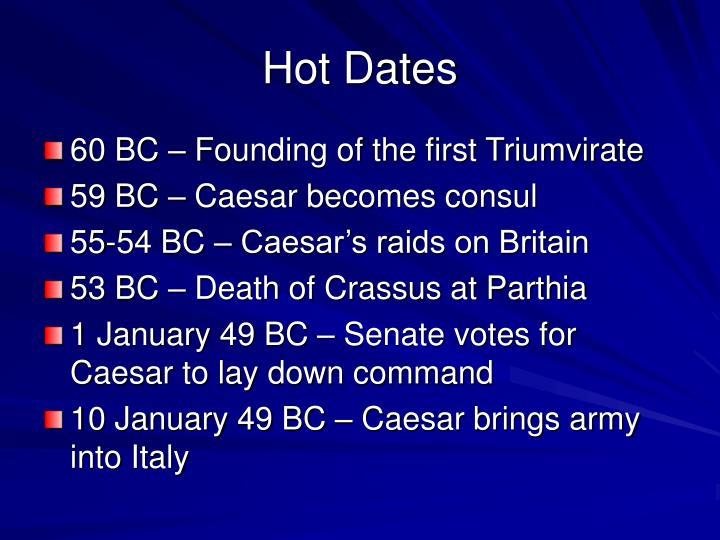 Hot Dates