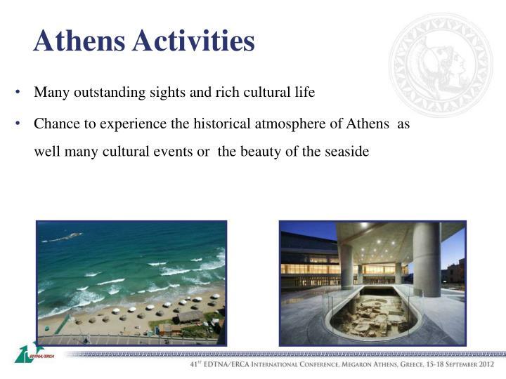 Athens Activities