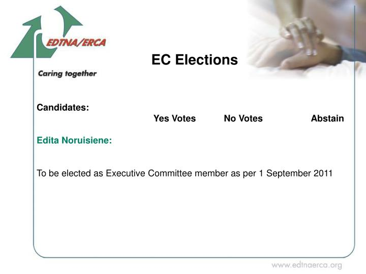 EC Elections