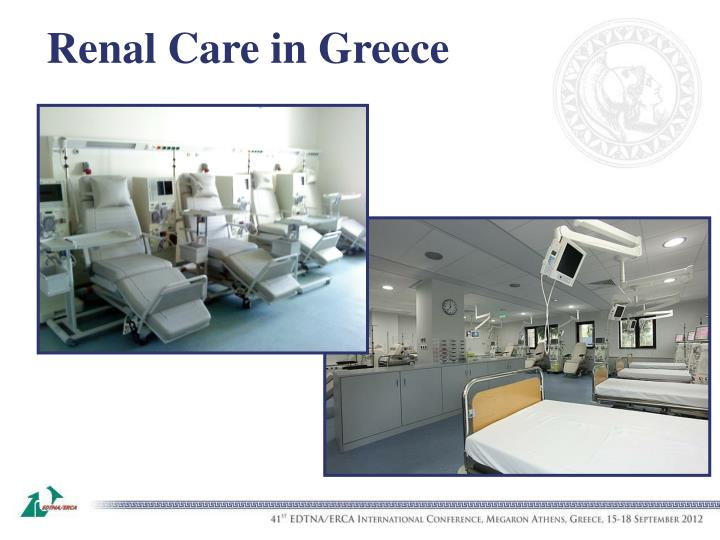 Renal Care in Greece