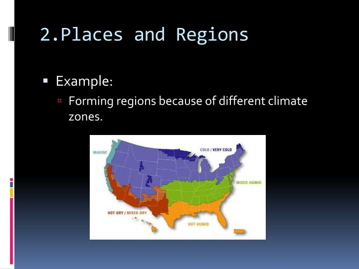 2.Places and Regions
