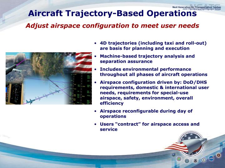 Aircraft Trajectory-Based Operations