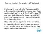 save our hospital furness non bct facilitated