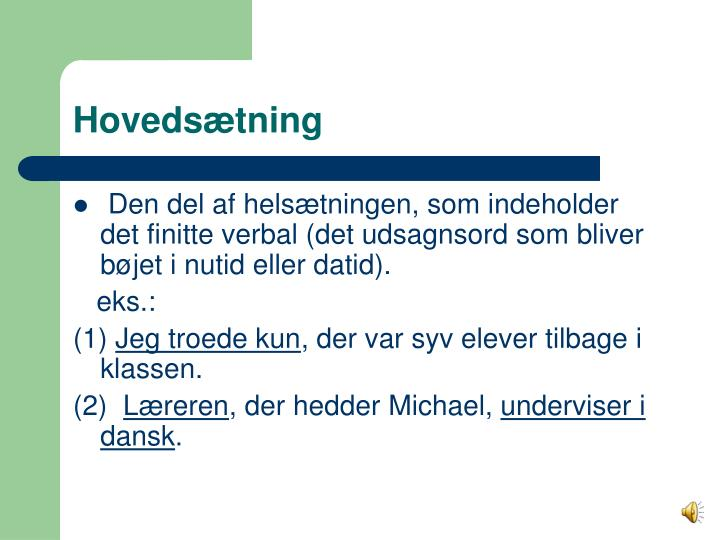 Hoveds tning
