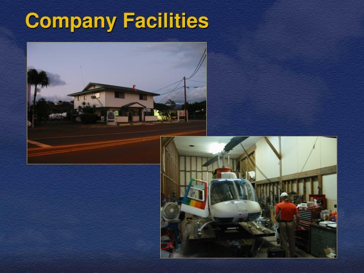 Company Facilities