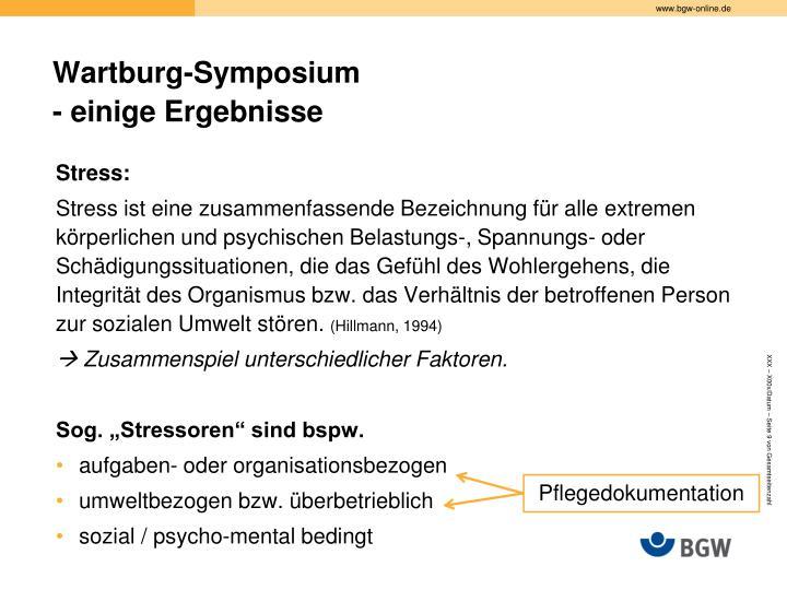 Wartburg-Symposium