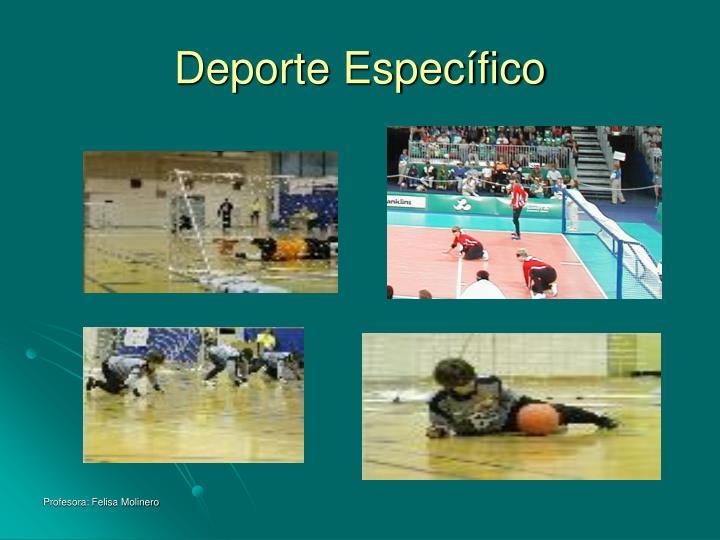 Deporte Específico