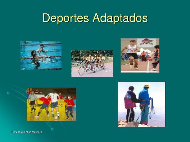 Deportes Adaptados