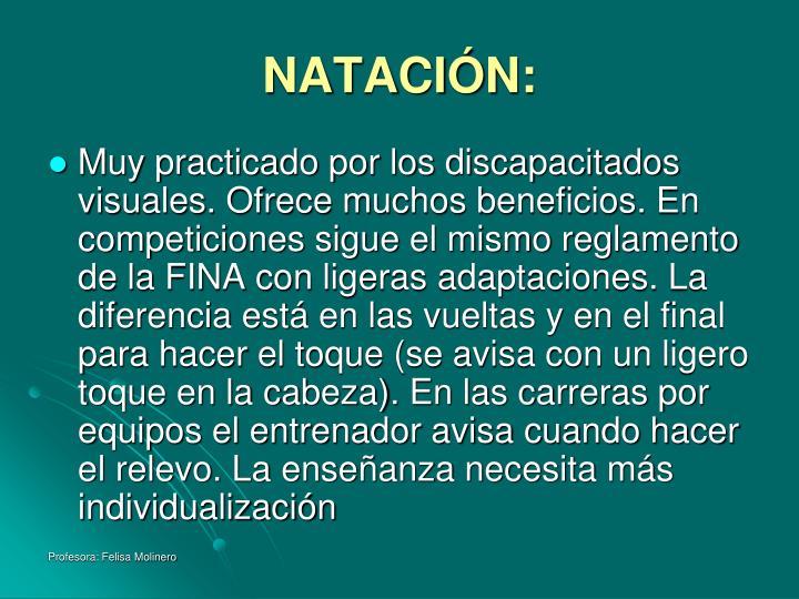 NATACIÓN:
