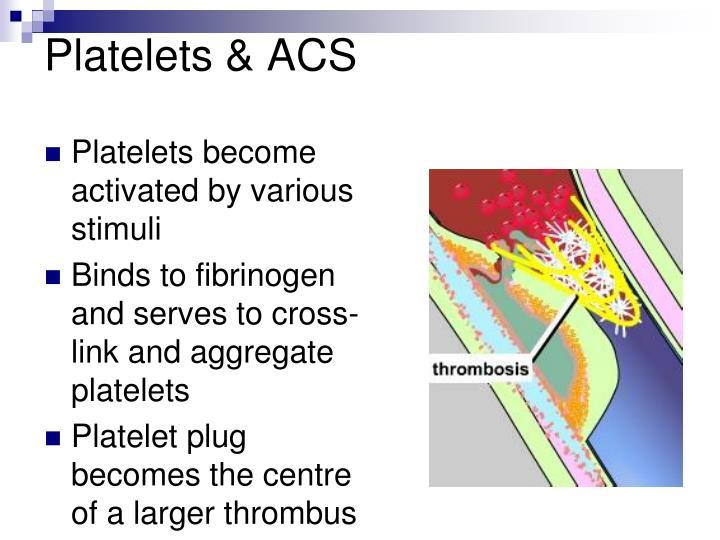 Platelets & ACS