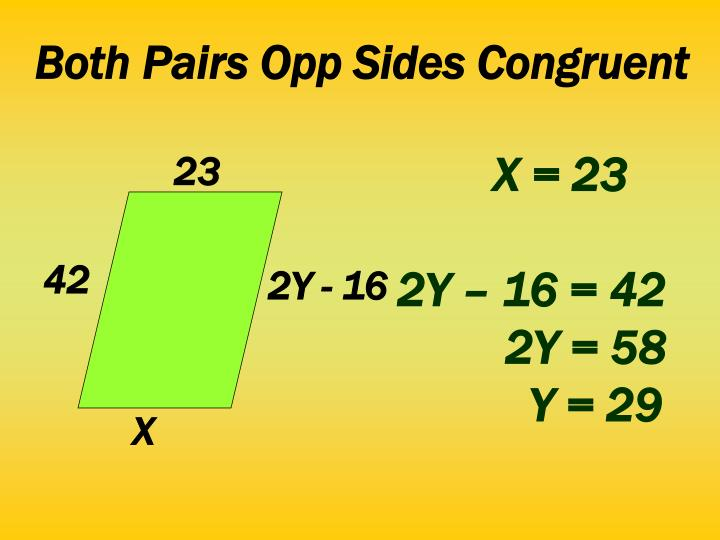 Both Pairs Opp Sides Congruent