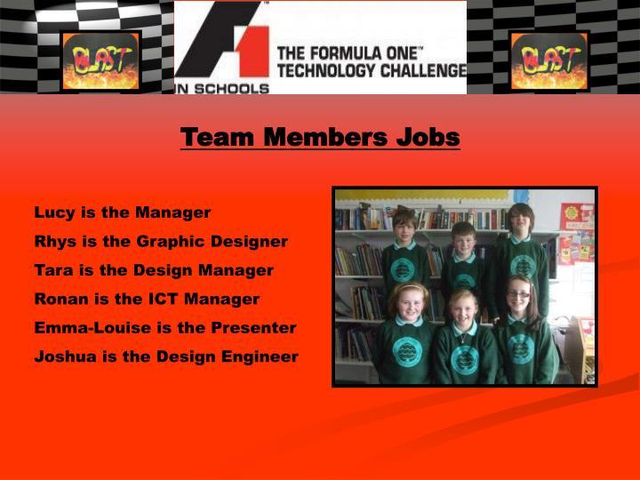 Team Members Jobs