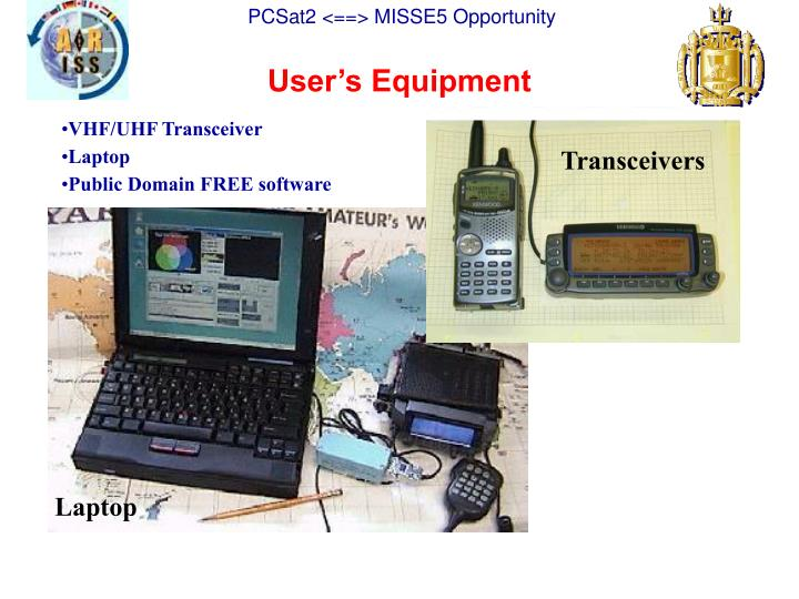 User's Equipment