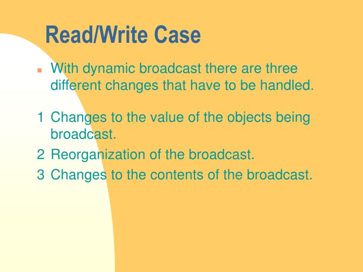 Read/Write Case