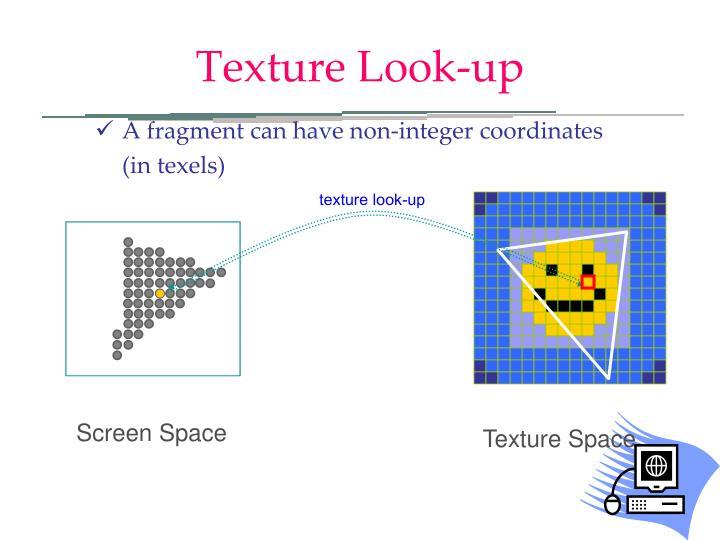 texture look-up