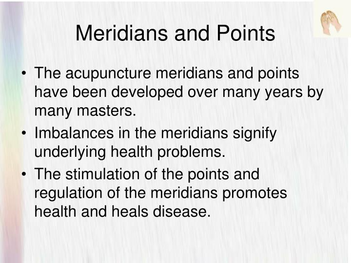 Meridians and Points
