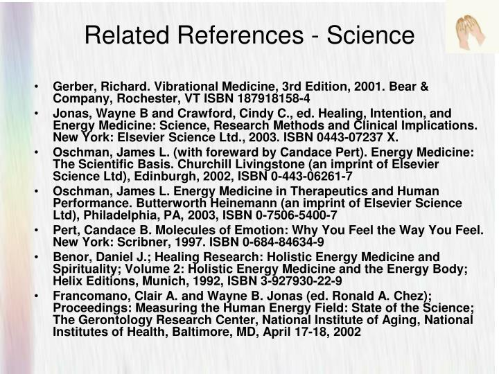 Related References - Science