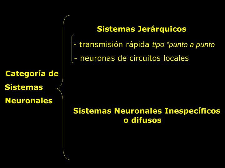 Sistemas Jerárquicos