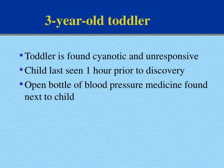 3-year-old toddler