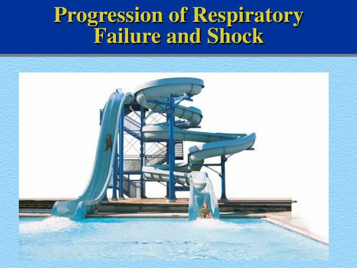 Progression of Respiratory Failure and Shock