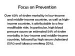 focus on prevention