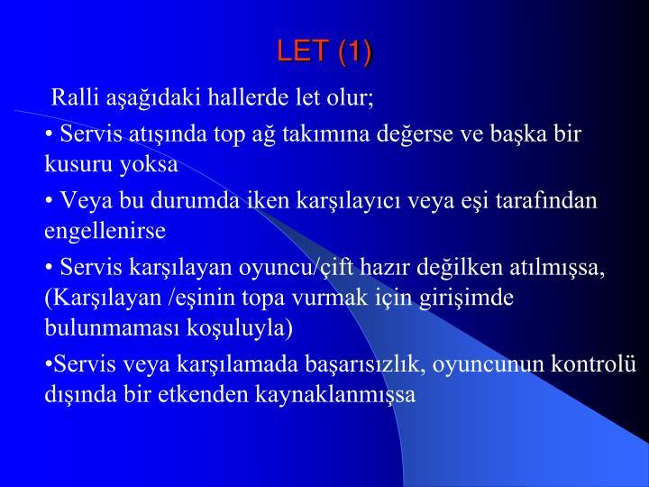 LET (1)