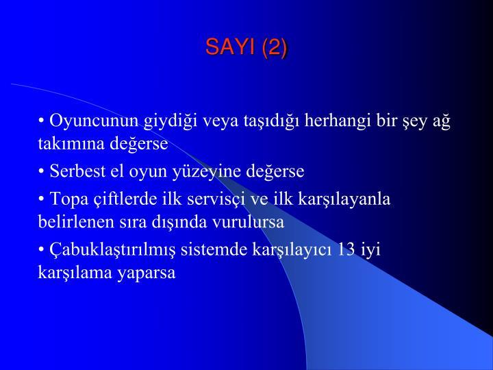 SAYI (2)