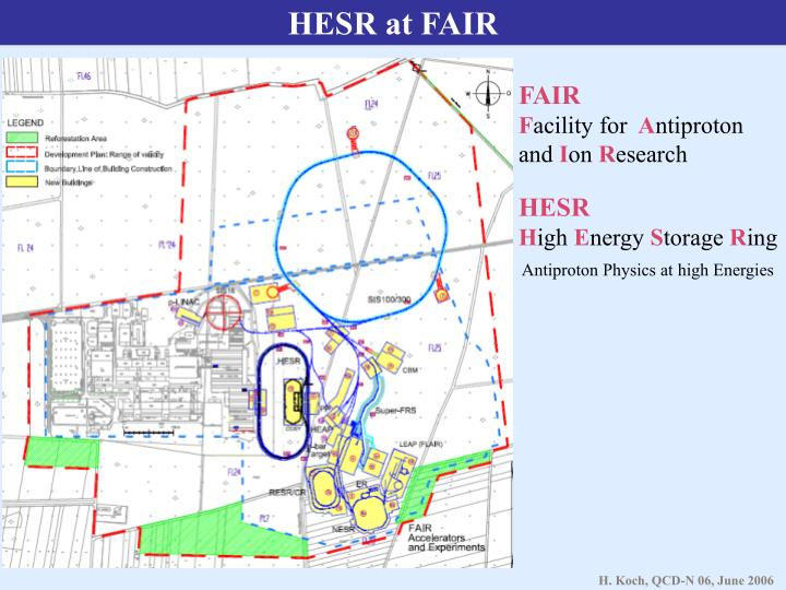 HESR at FAIR