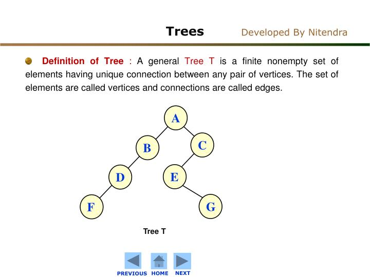 Definition of Tree