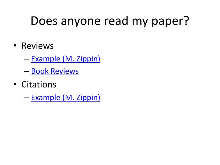 Do my papers