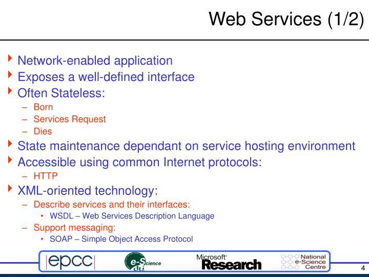 Web Services (1/2)