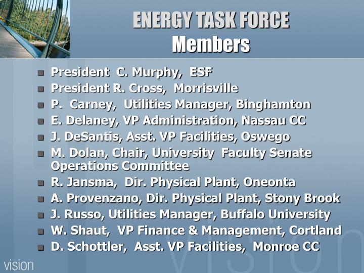 ENERGY TASK FORCE