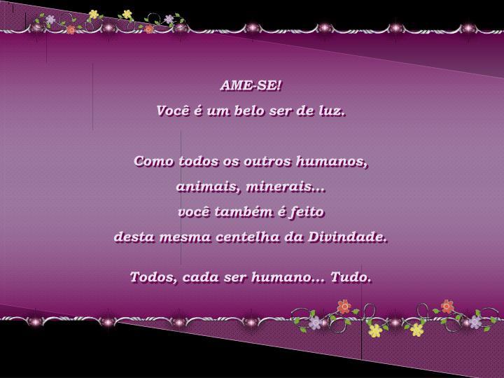AME-SE!